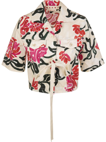 Marni Shirt With Ribbon