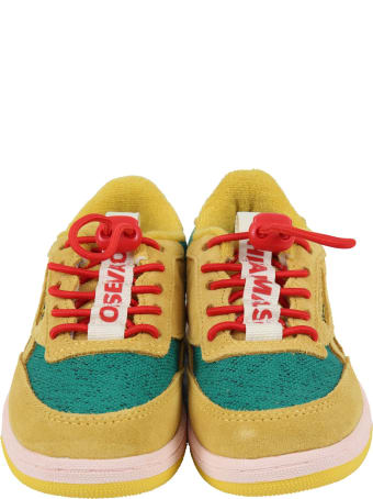 The Animals Observatory Multicolor Sneakers For Kids