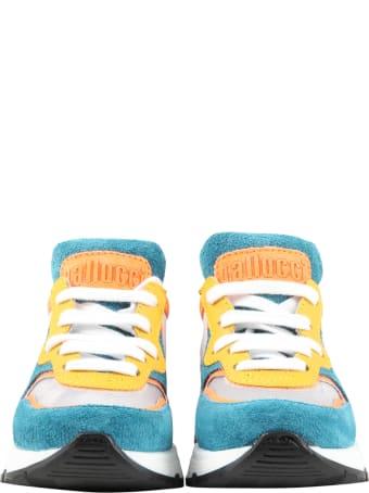 Gallucci Multicolor Sneakers For Boy With Logo
