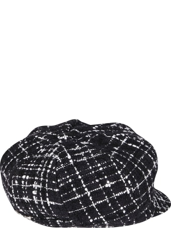 Dolce & Gabbana Black And White Cotton Hat