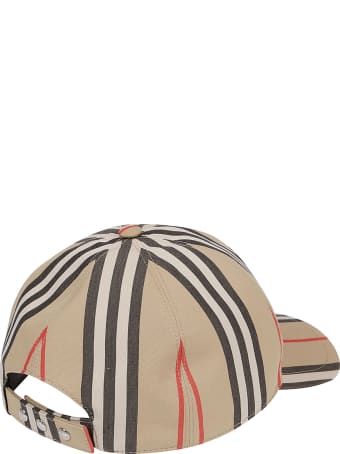Burberry Cappello Stripe Tb Baseball