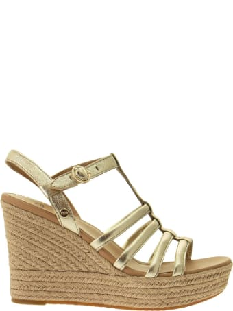 UGG Cressida Gold Metallic