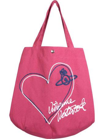 Vivienne Westwood Sonnet Round Tote Bag