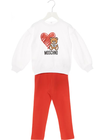 Moschino 'teddy Heart' Jumpsuits