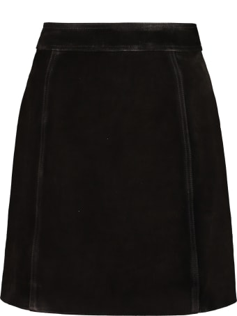 Golden Goose Artemide Suede Mini-skirt