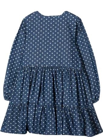 Piccola Ludo Polka Dot Dress