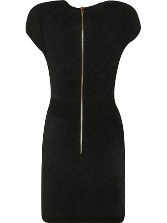 Balmain Capped Sleeve Dress
