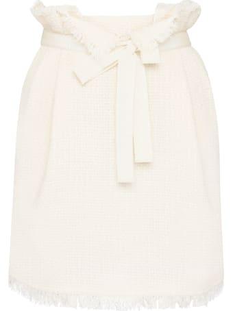 Alberta Ferretti Cotton-blend Skirt