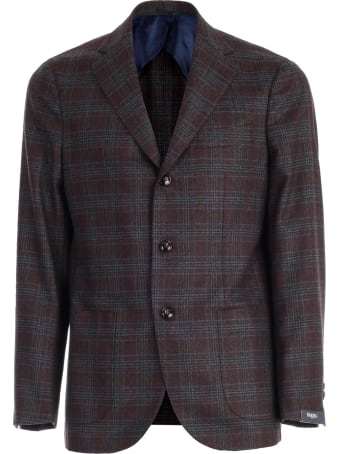 Barba Napoli Jacket Single Breated