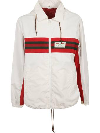 Gucci Logo Stripe Detail Jacket