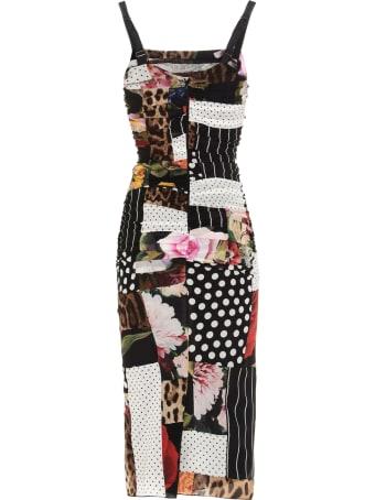 Dolce & Gabbana 'patchwork' Dress