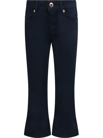 Dondup Blue ''mandy'' Trousers For Girl