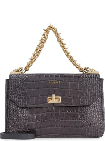 Givenchy Crocodile Effect Leather Bag