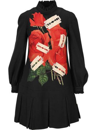 Undercover Jun Takahashi Undercover Rose Prnt Mini Dress