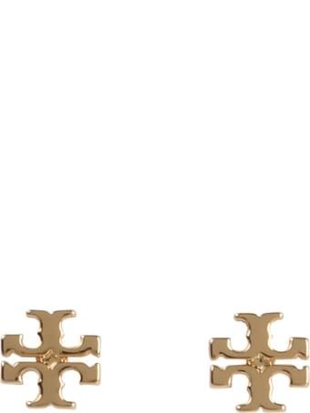 Tory Burch Stud Logo Earrings