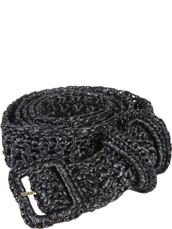 Philosophy di Lorenzo Serafini Perforated Woven Belt