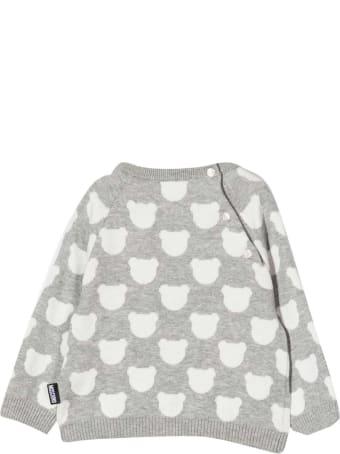 Moschino Gray Sweatshirt