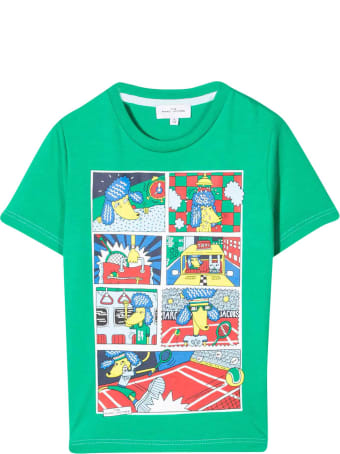 Marc Jacobs Green T-shirt With Press