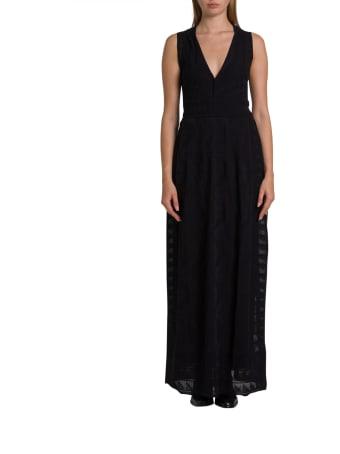 M Missoni Empire Waist Knit Dress