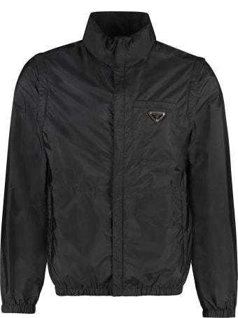 Prada Nylon Windbreaker-jacket