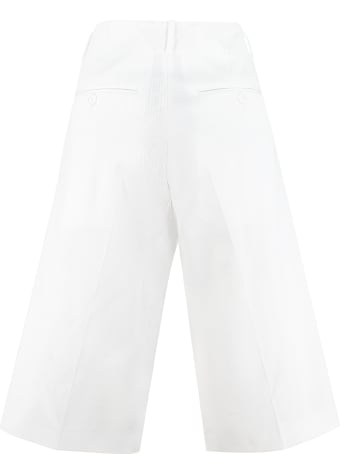 Plan C Cotton Bermuda Shorts