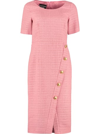 Boutique Moschino Tweed Sheath Dress