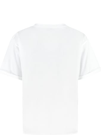 Saint Laurent Cotton Crew-neck T-shirt