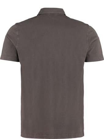 Drumohr Cotton-piqué Polo Shirt