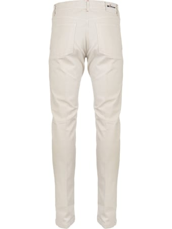 Kiton Sand Beige Trousers