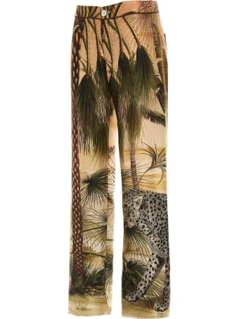 For Restless Sleepers 'jaguar In The Oasis' Pants