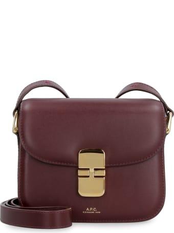A.P.C. Grace Leather Crossbody Bag