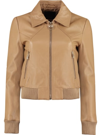 Pinko Ridge Leather Jacket