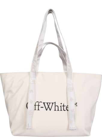 Off-White Tote Bag With Logo