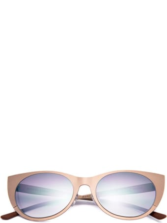 Kyme Gun Metal Angel Sunglasses For Girl