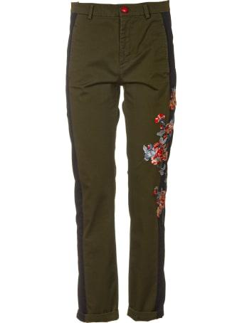History Repeats Side Flower Pants