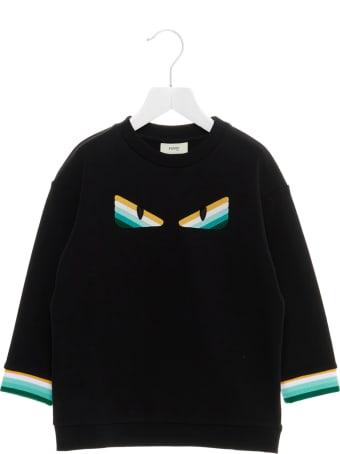 Fendi 'eyes' Sweater