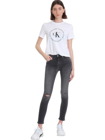 Calvin Klein Jeans Jeans In Black Denim