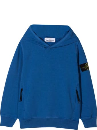 Stone Island Junior Blue Sweatshirt