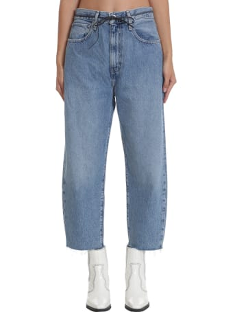 Levi's Lmc Barrel Jeans In Cyan Denim