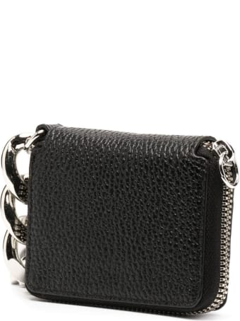 Kara Crossbody Wallet In Hammered Leather