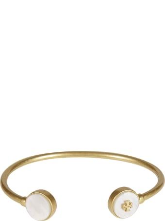 Tory Burch Semi-precious Open Cuff Bracelet