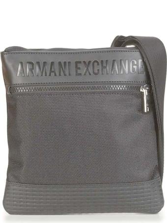 Armani Collezioni Armani Exchange Borsa A Tracola Nero Uomo