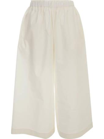Daniela Gregis Cotton Pants Elastic Waist