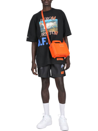 HERON PRESTON Nylon Printed Shorts