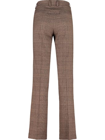 Hebe Studio Lover Prince Of Wales Trousers