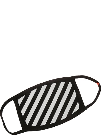 Off-White Diag Stripe Mask
