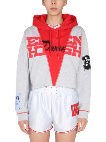 McQ Alexander McQueen Cropped Fit Sweatshirt