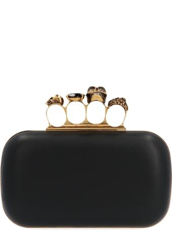 Alexander McQueen Four Ring Box' Bag