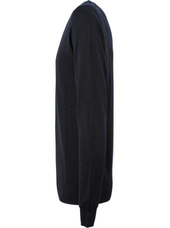 Hosio Black Virgin Wool Jumper