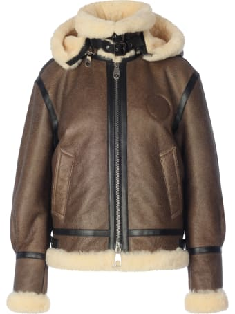 Chloé Leather Avietor Jkt